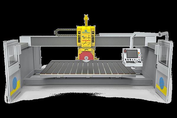 CNC Bridge Saw Orbit A5 | 石材加工设备-五轴桥切机