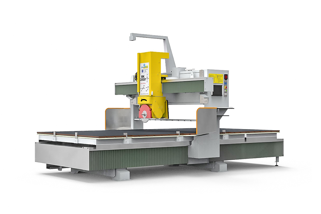 CNC Bridge Saw BK2020 5+V | CNC五轴数控桥切机