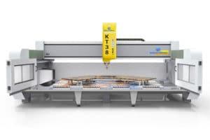 5 axis cnc bridge Saw, Orbit A5,stone processing Equipment